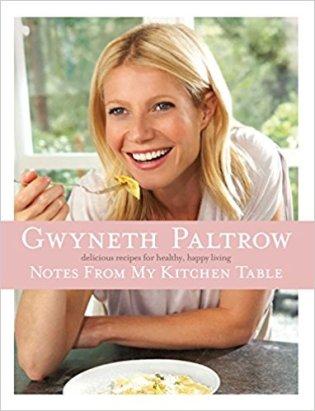 libro gwyneth paltrow appunti di cucina