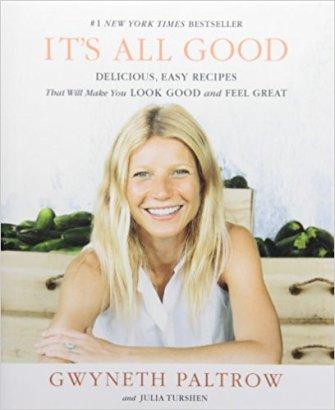 libro gwyneth paltrow, è tutto buono